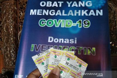 Kasus Covid-19 Melonjak, 5.000 Dosis Ivermectin Disalurkan ke Jateng