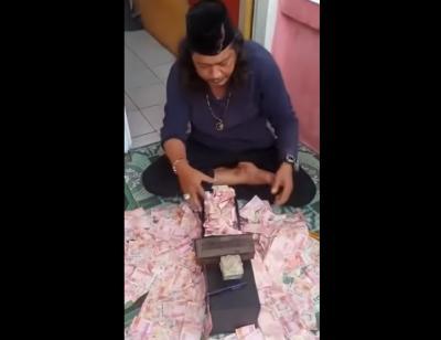 Jatuh Sakit, Polisi Tangguhkan Penahanan Ustadz Gondrong si Dukun Pengganda Uang