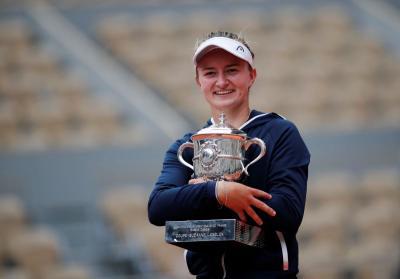 Barbora Krejcikova Puas Berhasil Rebut Gelar Prancis Open 2021