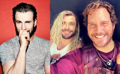 Chris Evans Ultah, Chris Hemsworth Justru Unggah Foto Bareng Chris Pratt