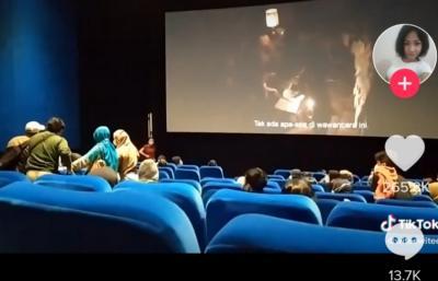 Viral Penonton Bioskop Kesurupan saat Nonton Film Conjuring 3