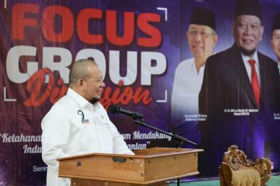 Ketua DPD RI Dorong Pembangunan Pembangkit Listrik Tenaga Nuklir di Kalbar