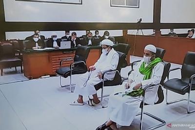 Sidang Habib Rizieq Kembali Digelar Hari Ini, Jaksa Jawab Pleidoi Kasus Tes Swab