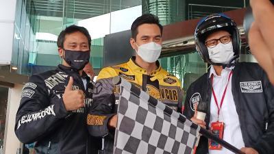 Promosikan Pariwisata, Tora Sudiro dan Darius Sinathrya Motoran Sampai ke Yogya