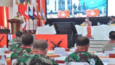Prabowo Sebut Sistem Pertahanan Indonesia Bersifat Semesta, Rakyat Jadi Kunci