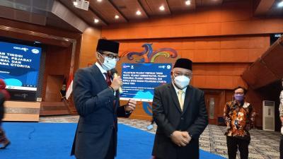 Sandiaga Uno Minta Pejabat agar Berinovasi dan Berkolaborasi Pulihkan Pariwisata