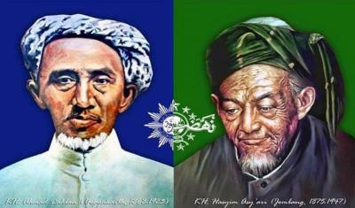Kiai Ahmad Dahlan dan Kiai Hasyim Asy'ari Suka Saling Memuji