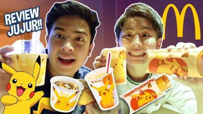 Bukan McD BTS, Jerome Polin Review McD Pikachu di Jepang!