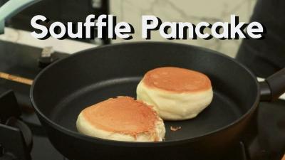 Resep Souffle Pancake Fluffy ala Chef Stefani Horison