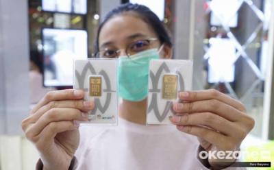 Harga Emas Antam Turun 3 Hari Berturut-turut, Kini Dijual Rp940.000 Gram
