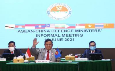 Bertemu Menhan Se-ASEAN dan Tiongkok, Prabowo Optimis Sengketa Laut China Selatan Dapat Diselesaikan