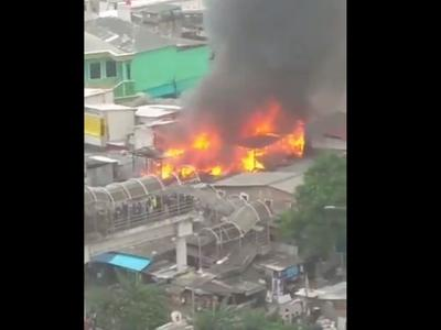 Rumah Warga di Pademangan Jakut Terbakar, 19 Unit Damkar Dikerahkan