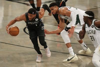 Hajar Bucks, Nets Butuh 1 Kemenangan Lagi untuk Tampil di Final Wilayah NBA 2020-2021