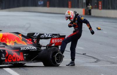 Mobil Pembalap F1 Max Verstappen dan Lance Stroll Pecah Ban, Pirelli Bantah Cacat Produksi