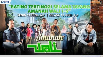 Amanah Wali 5 RCTI Pecahkan Rekor