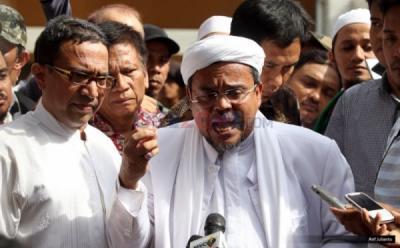 Sidang Hari Ini, Habib Rizieq Berikan Jawaban Kedua atas Tangkisan Jaksa