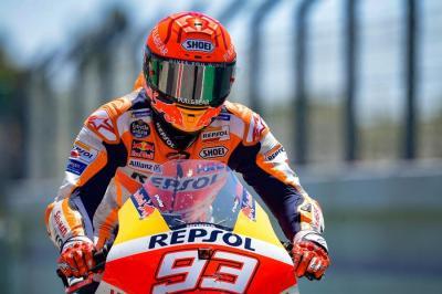 Belum Bugar, Wajar Marc Marquez Kesusahan di MotoGP 2021