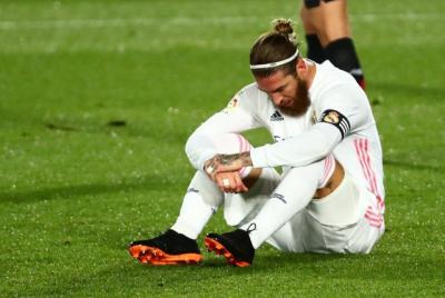 Sambil Menangis, Sergio Ramos Ucapkan Perpisahan kepada Real Madrid