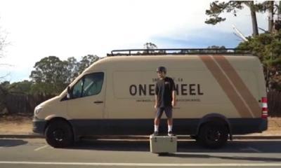 Unik, Kotak Pendingin Ini Bisa Jadi Skateboard!