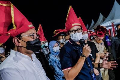 Buka Peluang Usaha, Sandiaga Uno Dukung Penuh Pelaksanaan Makassar Jazz Festival