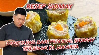 Resep Siomay Ayam Garing dan Juicy ala Chef Christo