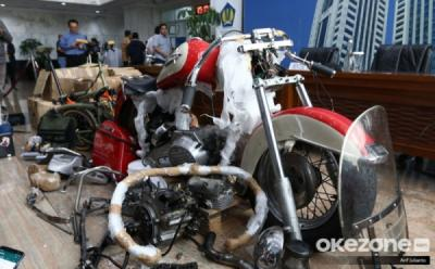 Harley Davidson dan Brompton Selundupan Eks Dirut Garuda Dilelang