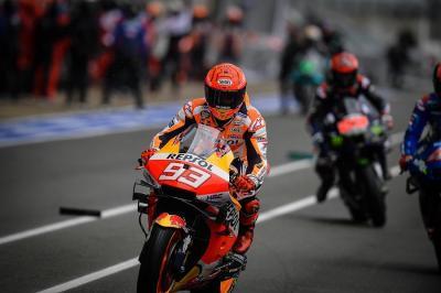 Raja di Sirkuit Sachsenring, Marc Marquez Tak Sabar Jalani MotoGP Jerman 2021