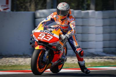 Hasil Latihan Bebas 1 MotoGP Jerman 2021: Marc Marquez Pertama, Valentino Rossi Malu-maluin