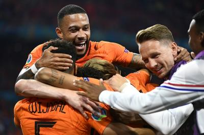 Hasil Piala Eropa 2020: Belanda Lolos ke 16 Besar Usai Gasak Austria 2-0