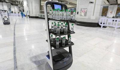 Robot Akan Layani Jamaah Haji Bagikan Air Zamzam