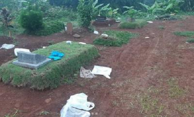 Sampah APD Berserakan di Pemakaman Pondok Rajeg, Ini Penjelasan Camat Cibinong