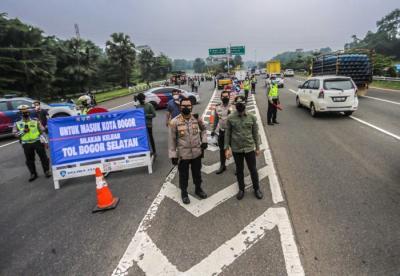 Hari Pertama Ganjil Genap Kota Bogor, Total 3.343 Kendaraan Diputar Balik