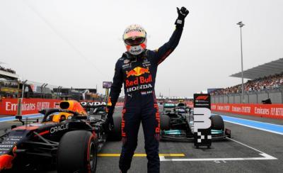 Hasil Kualifikasi F1 GP Prancis 2021: Verstappen Rebut Pole Position
