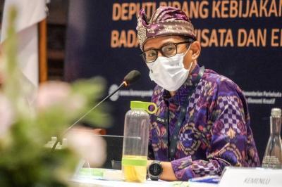 COVID-19 di Jakarta Meningkat, Sandiaga Putuskan Kemenparekraf WFH 100%