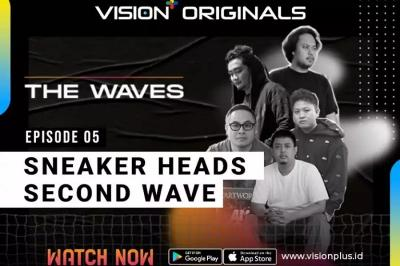 """Sneakers Head Second Waves di Episode 5 Vision+ Original """"The Waves"""""""