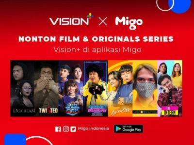 Nikmati Original Series Vision+ dan Film Pilihan di Aplikasi Migo