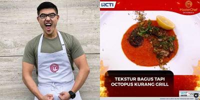 Berkat Octopus, Bryan Menang Tantangan Lucky Dice MasterChef Indonesia