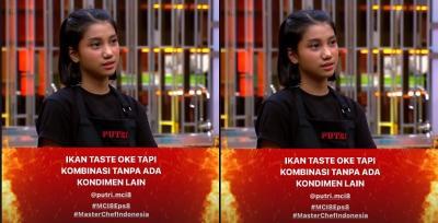 Gagal di 2 In 1 Challenge, Putri Kubur Mimpi Jadi The Next MasterChef Indonesia