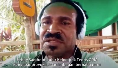 Selalu Tebar Teror, Tokoh Adat Papua Nilai Sebby Sambom Melawan Hukum