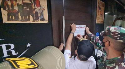 Dramatis! TNI-Polri Gerebek Bar di Cilandak karena Langgar Prokes