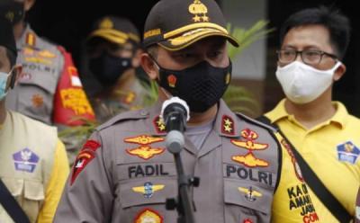 Soal Desakan PSBB Ketat, Kapolda Metro Jaya: Polisi Hanya Jalankan Perintah