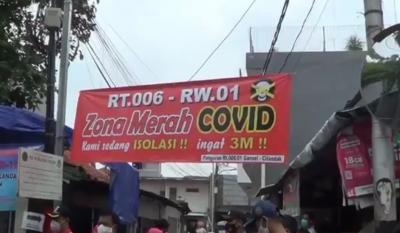17 Warga Terpapar Covid-19, Satu Kampung di Cilandak Jaksel Lockdown