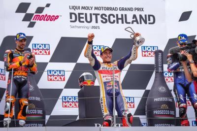 Marc Marquez Sebenarnya Tak Targetkan Naik Podium di MotoGP Jerman 2021, tapi Malah Juara
