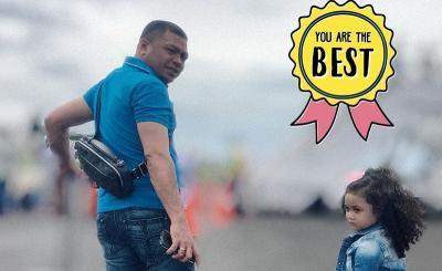 Hari Ayah, Krisdayanti Beri Gelar Best Dad untuk Raul Lemos