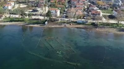 Reruntuhan Gereja Berusia 1600 Tahun Muncul dari Dasar Laut