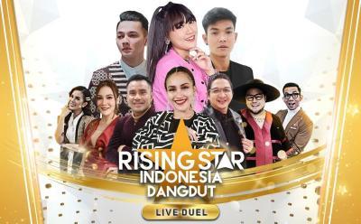 Penuh Kejutan! Happy Asmara, Dorry Harsa dan Trisuaka Mampir di Rising Star Indonesia Dangdut