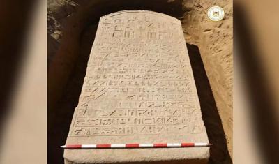 Prasasti Berusia 2.600 Tahun Milik Firaun DItemukan di Mesir