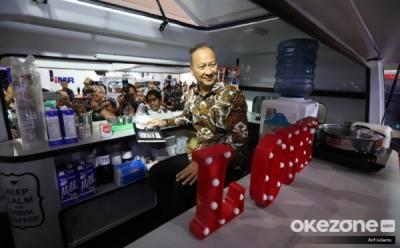 Menperin Pamer Kekuatan Industri Fesyen Muslim Indonesia