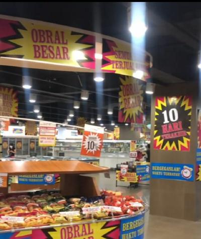 Giant Tumbang, Kini Hero Supermarket Tutup