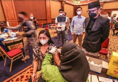 Bima Arya Targetkan 10.000 Warga Kota Bogor Divaksin Setiap Hari